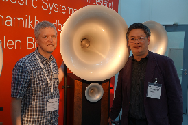 with Armin Krauss from Avantgarge Acoustic 2015 HighEnd Munich